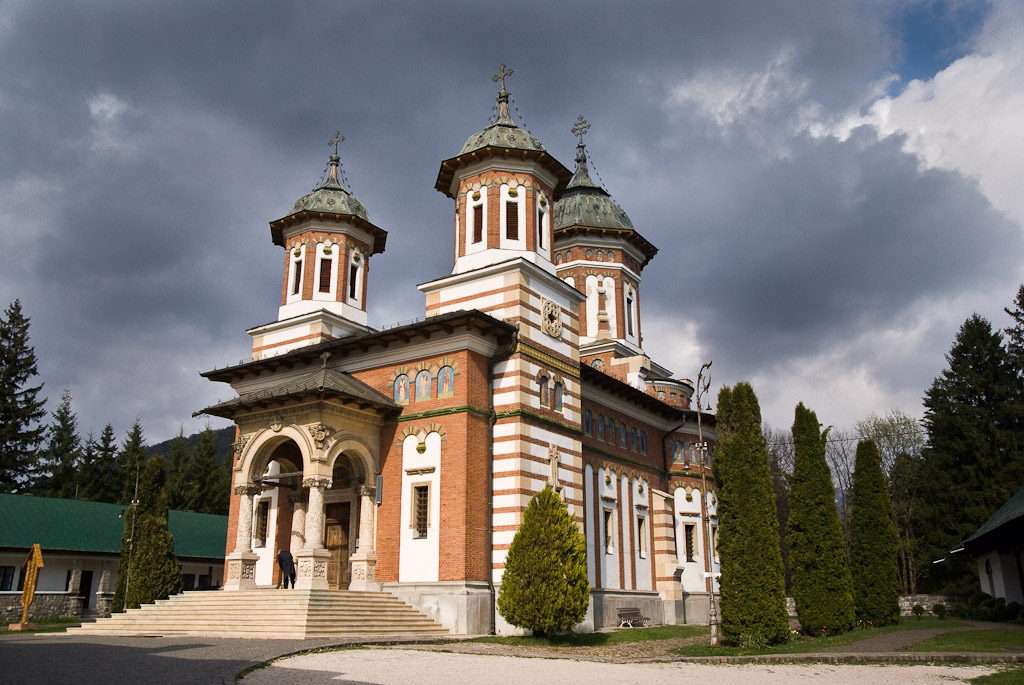 Church at Sinaia, Rumunia